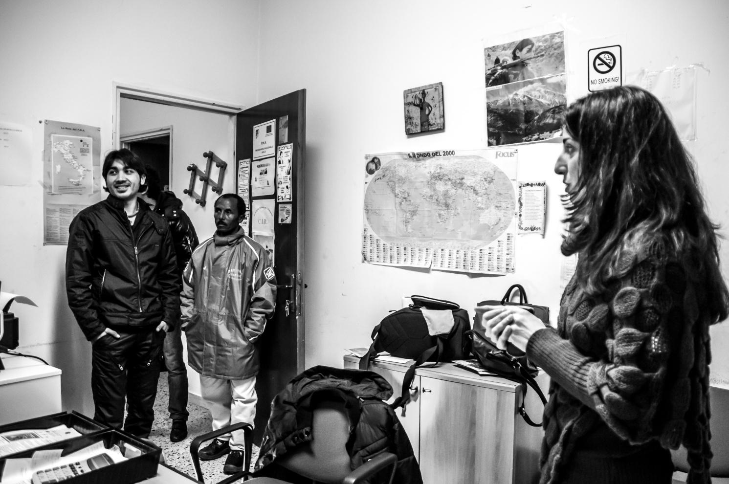 Rifugiati del Progetto SPRAR