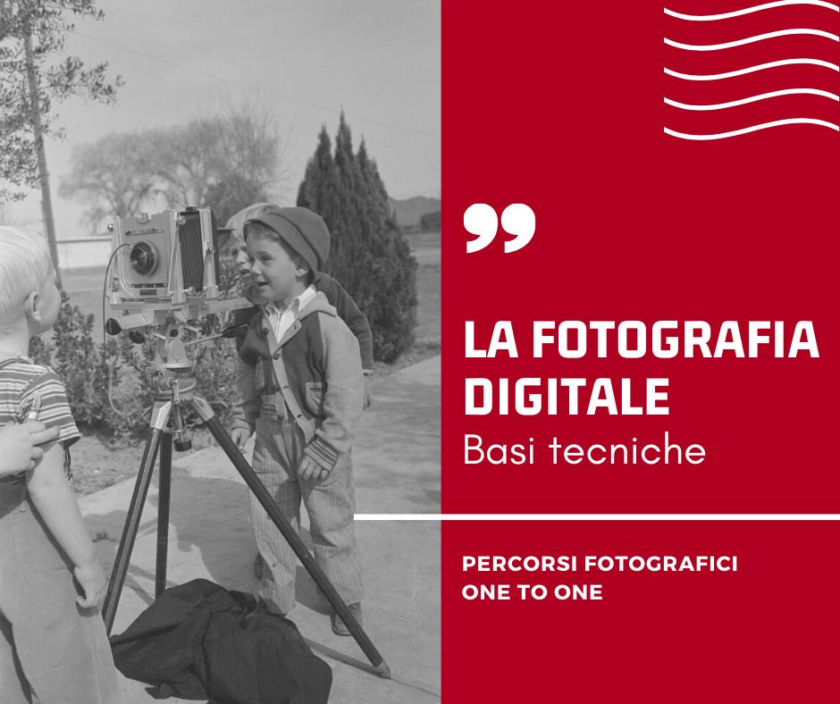 Percorsi Fotografici individuali : LA FOTOGRAFIA DIGITALE - Basi tecniche - Disponibilità del corso interattivo in streaming: dal 26 maggio 2020 Orario: da concordare con il partecipante Durata: 5 incontri a cadenza settimanale di 80 minuti Costo: 120 euro