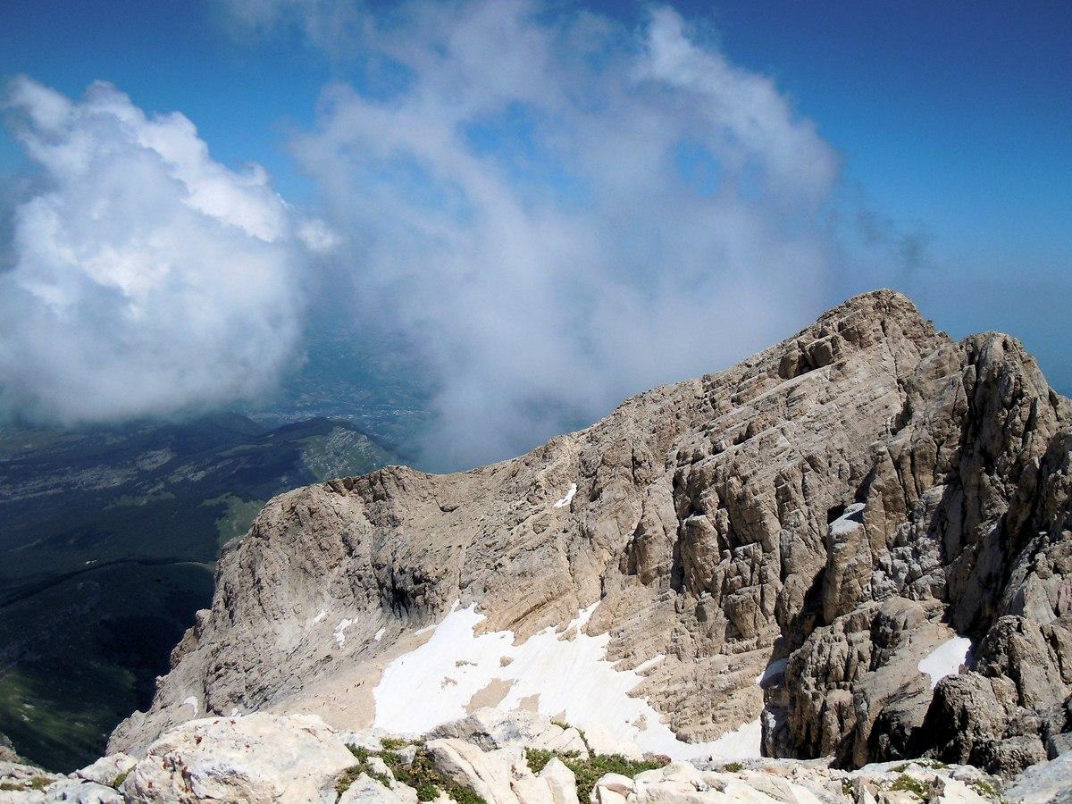 Il Gran Sasso e l'Abruzzo.