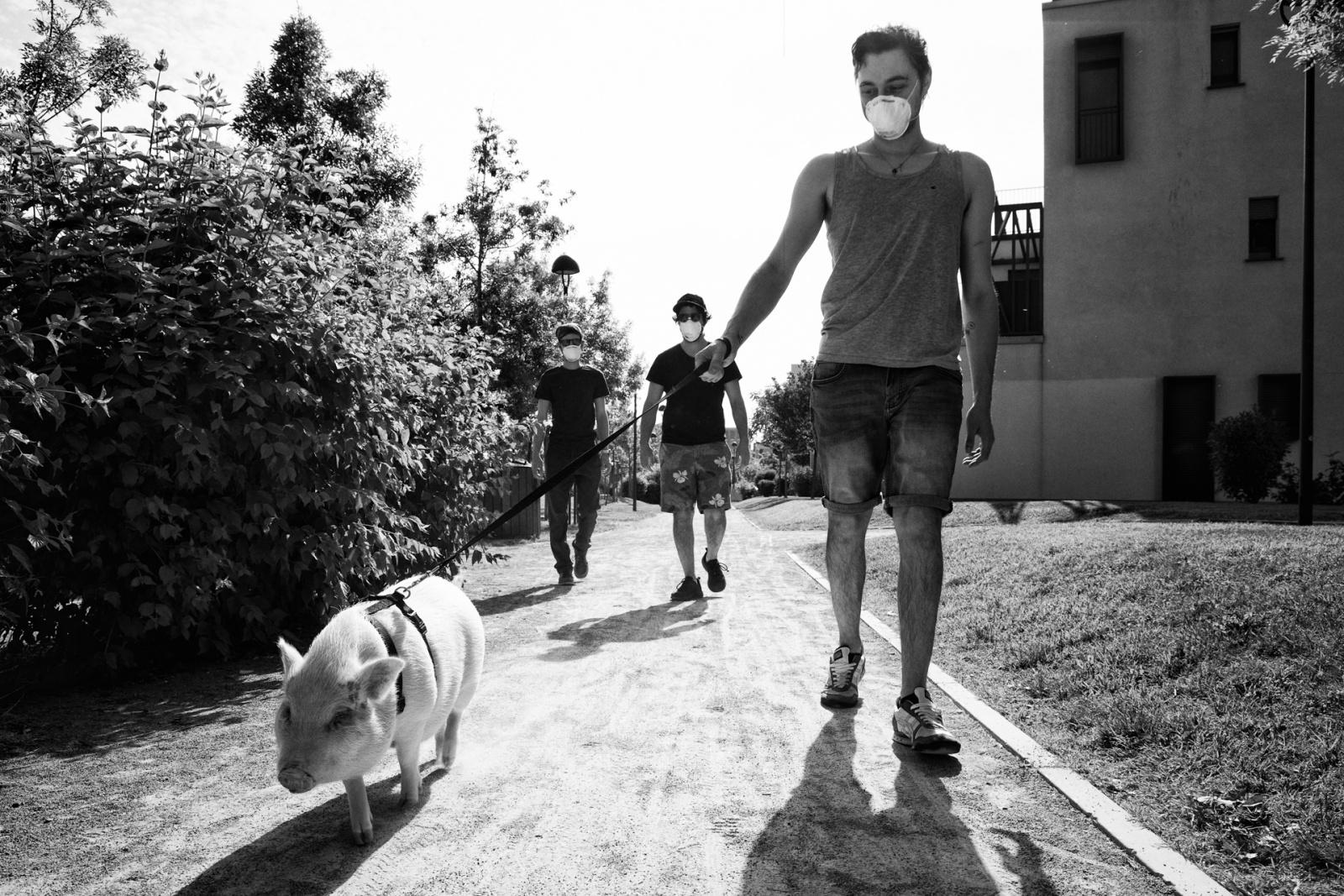 Spiragli di normalità. © Silvia Milanesi.