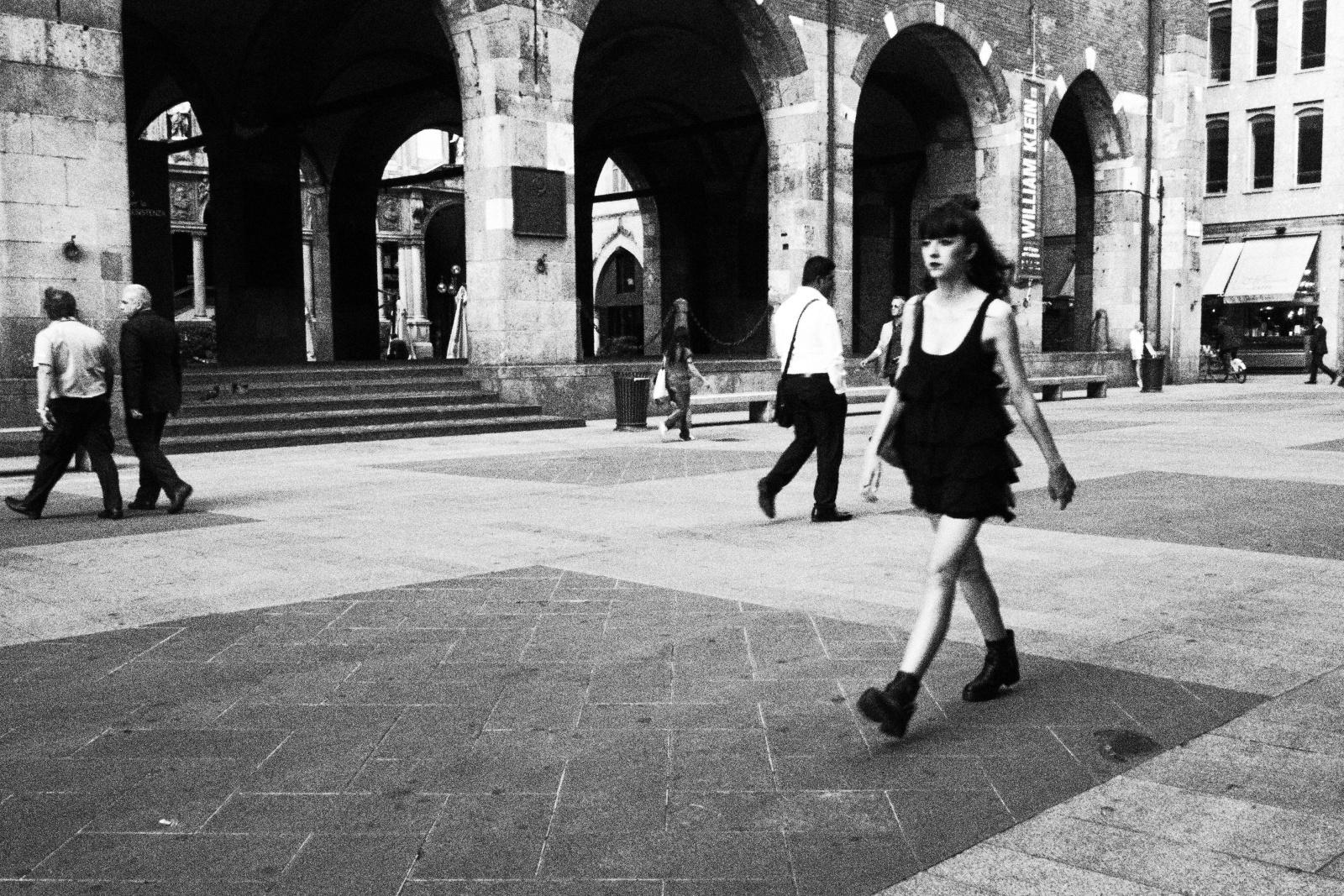 Via Orefici, Milano, giugno 2016. © Alessandro Rizzitano.