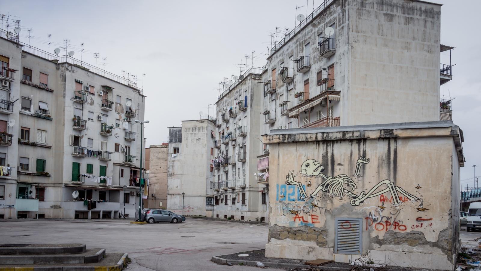 Rione Luzzatti, quartiere Poggioreale. © Giovanni Minervini.