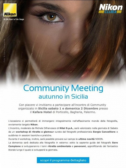 Community Meeting Nikon a Palermo