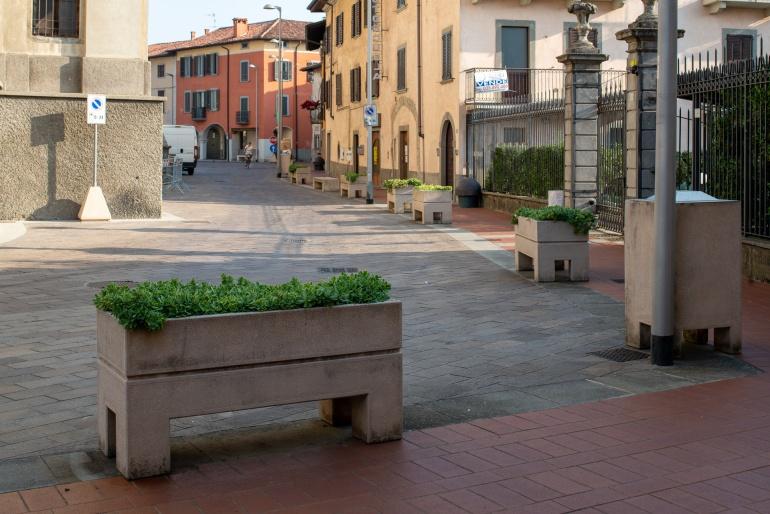 Piazza Urgnano - BG
